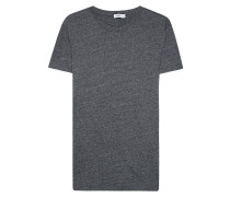 Baumwoll-Mix T-Shirt  // Classic Anthra