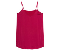 Camisole-Top aus Seide  // Silk Satin Persian Red