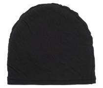 Open Seam Hat Black