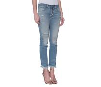 Knöchellange Straight-Leg Jeans  // Cyrus Straight Pant Sunshine