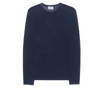 Pullover aus Merinowolle  // Kort Navy