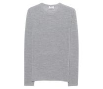 Pullover aus Merinowolle  // Kort Medium Grey