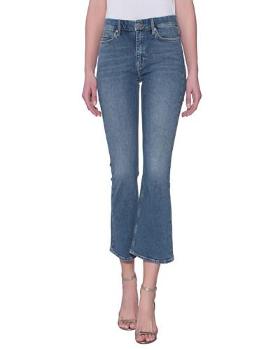 Crop Flare Leg Jeans