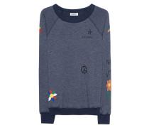 Baumwoll-Mix-Sweatshirt