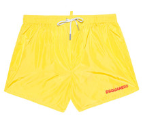 Badehose im cleanen Look  // Surf Edition Yellow