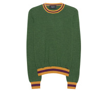 Woll-Feinstrickpullover  // Fine Knit Wool Green