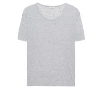 Meliertes T-Shirt  // Lauren Glacier Grey