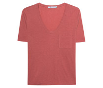 Meliertes T-Shirt  // Classic Cropped Tee Pink