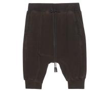 Lässige Sweat-Shorts  // Summer John Black Rust