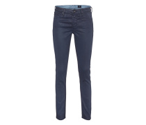 The Legging Ankle Leatherette Navy