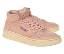 High-Top Leder-Sneaker