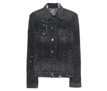 Jeansjacke im Distressed-Look  // Shotgun Trucker Medium Black