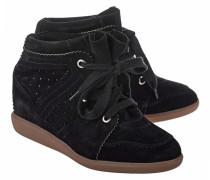 Leder Wedge-Sneaker