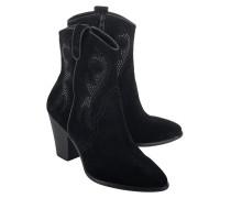 Cowboy-Boots aus Veloursleder mit Nieten  // Joanna Black