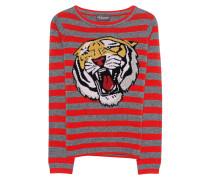 Kaschmir-Woll-Pullover  // Tiger Stripes Multicolor