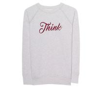 Besticktes Sweatshirt  // Lilly Off White