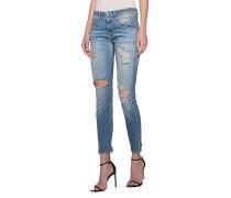 Skinny Jeans im Destroyed Look  // Boy Skinny Shredded Light Blue