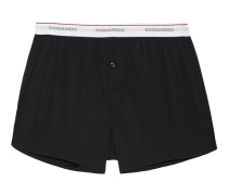Baumwoll-Mix-Boxershorts  // Clean Boxer Black