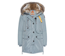 Daunen-Parka mit Fell-Kapuze  // Kodiak Blue Green