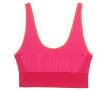 Verstellbarer Sport-BH  // The Seamless Bra Ruby Red/Shock Pink