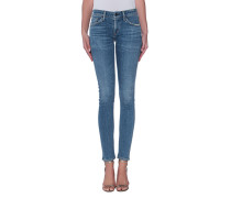 Cleane Skinny-Jeans  // Racer Low Rise Skinny Reyes