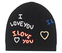 Cap Love You Black