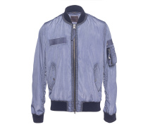 Bomberjacke im Oilwash-Finish  // Windbreaker Bomber Dark Blue