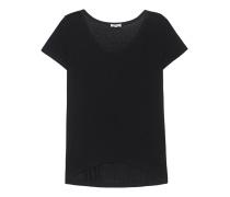 Jersey Boyfriend T-Shirt  // Drapey Lux Black