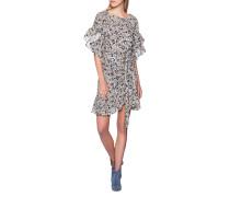 Mini-Kleid mit floralem Print