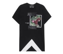 T-Shirt mit Print  // Rex Black