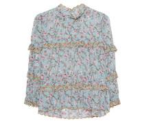 Bluse mit floralem Print  // Moxley Multicolor