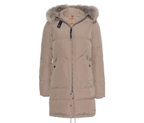 Daunen-Parka mit Fellbesatz  // Light Long Bear Cappuccino