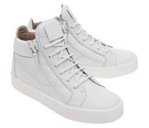 Glattleder-Sneakers  // May London Birel White