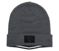 Layered Beanie Dark Grey