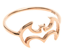 14k Roségold-Ring  // Where is Robin Rosegold