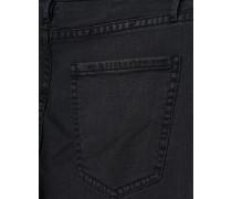 Melierte Skinny-Jeans  // Skinny Anthra