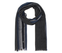 Striped Blue Grey Black