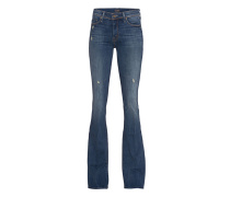 Destroyed-Flare-Jeans  // The Cruiser Rough It Up
