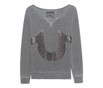 Horseshoe Embellished Grey