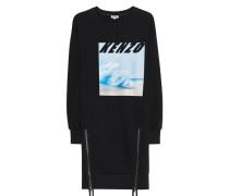 Hoodie-Kleid mit Print  // Artwork Sweat Black
