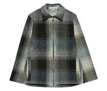 Woll-Mix Jacke mit Zipper