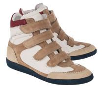 Leder Wedge-Sneakers