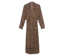 Gemustertes Midi-Kleid