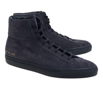 Achilles High In Suede Navy