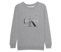 CK Sweat Logo Light Grey