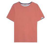 Oversize T-Shirt mit bedruckter Rückseite