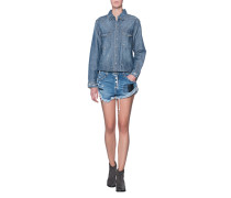 Jeansoverall im Destroyed-Look  // Napoleon Sailor Blue