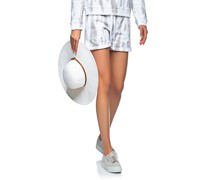 Jogging-Shorts im Batik-Design