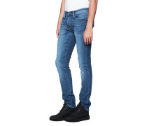 Washed-Out Slim Fit Jeans  // Aspen Blue