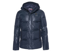 Gesteppte Daunenjacke  // Down Zipper Black